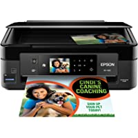 Epson Expression Home XP-430 Wireless Color Inkjet All-in-One Printer (Black)