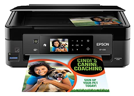 Amazon.com: Epson Expression Home xp-430 Wireless Impresora ...