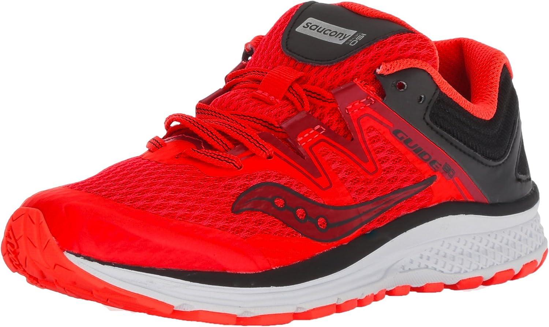 Amazon.com | Saucony Girls' Guide ISO Sneaker, Vizi red/Black, 7 Medium US  Big Kid | Sneakers