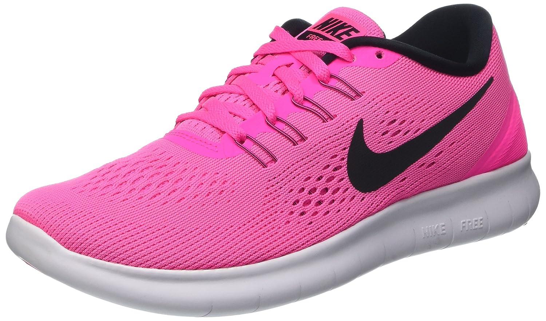 Nike Wmns Free RN, Zapatillas de Gimnasia para Mujer 40 EU|Rosa (Pink Blast / Black-fire Pink-wht)