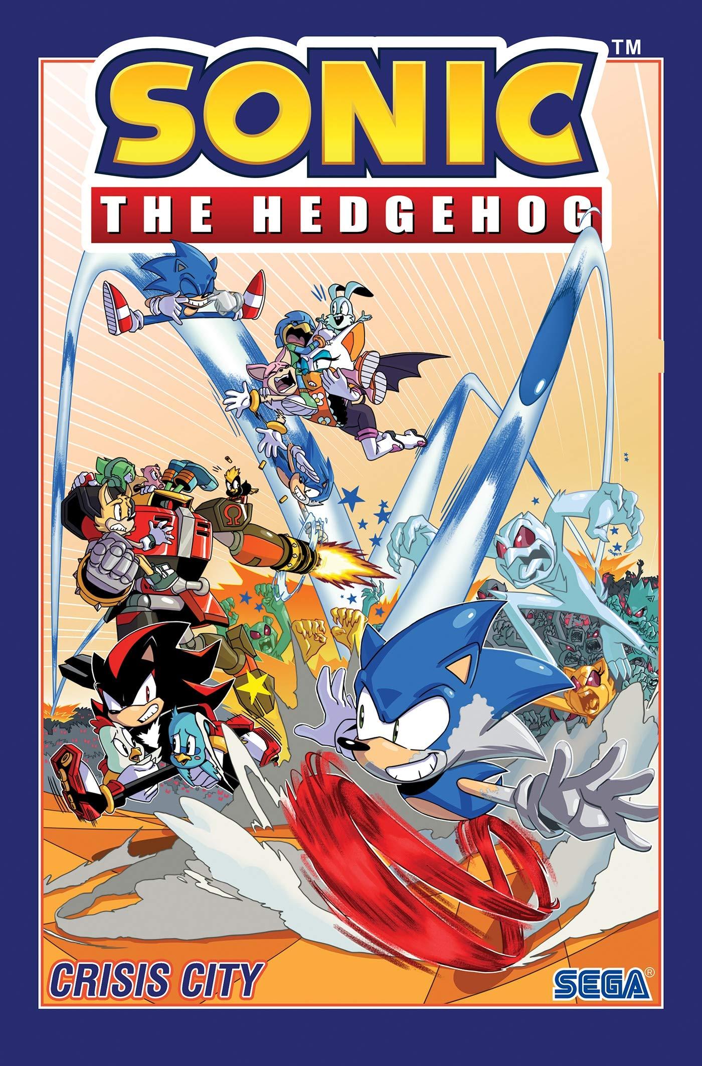 Amazon Com Sonic The Hedgehog Vol 5 Crisis City 9781684056170 Flynn Ian Yardley Tracy Lawrence Jack Books