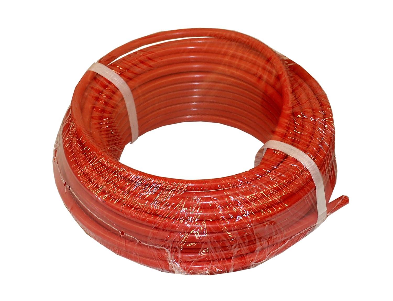 "ATP Nylochem Nylon Plastic Tubing, Red, 3/16"" ID x 1/4"" OD, 100 feet Length"