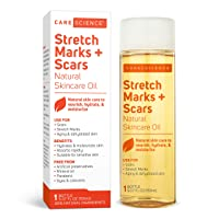 Care Science Stretch Marks + Scars Oil, 150 ml | For Scars, Stretch Marks, Aging...
