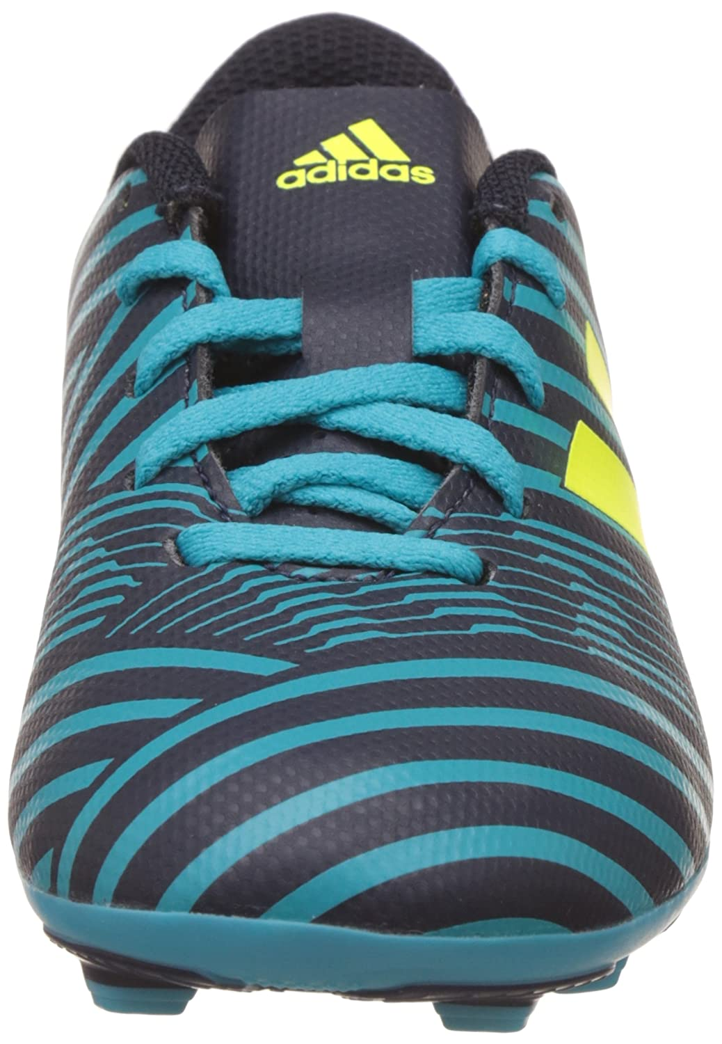 Biblia Controlar el fin  S82458 adidas Nemeziz 174 FxG J Color: Green Size: 5.0 Boys Athletic