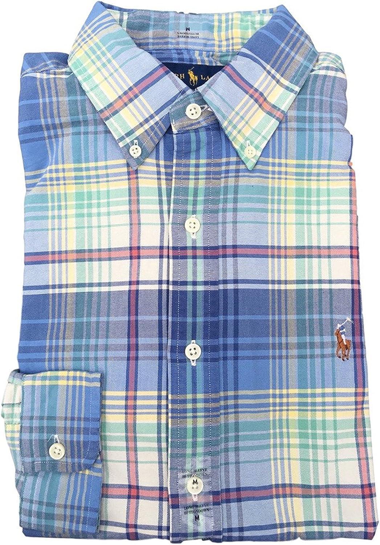 Polo Ralph Lauren Mens Long Sleeve Oxford Button Down Shirt ...