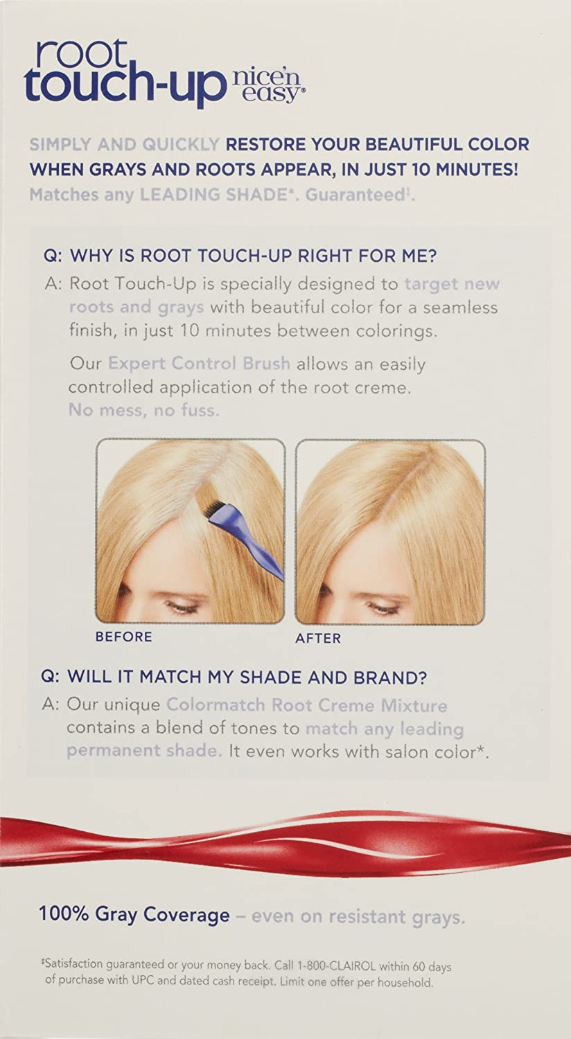 Amazon.com: Clairol Nice \'n Easy Root Touch-Up 10 Extra Light ...
