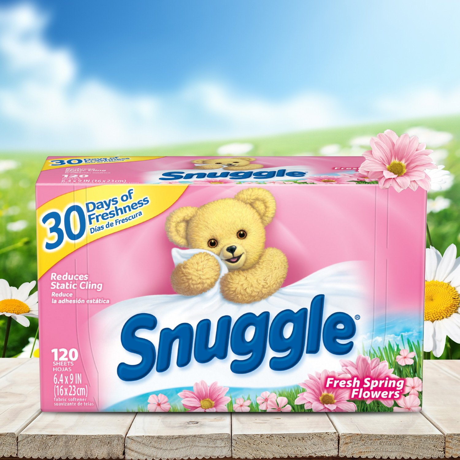 Amazon Com Snuggle Fabric Softener Dryer Sheets Fresh Spring