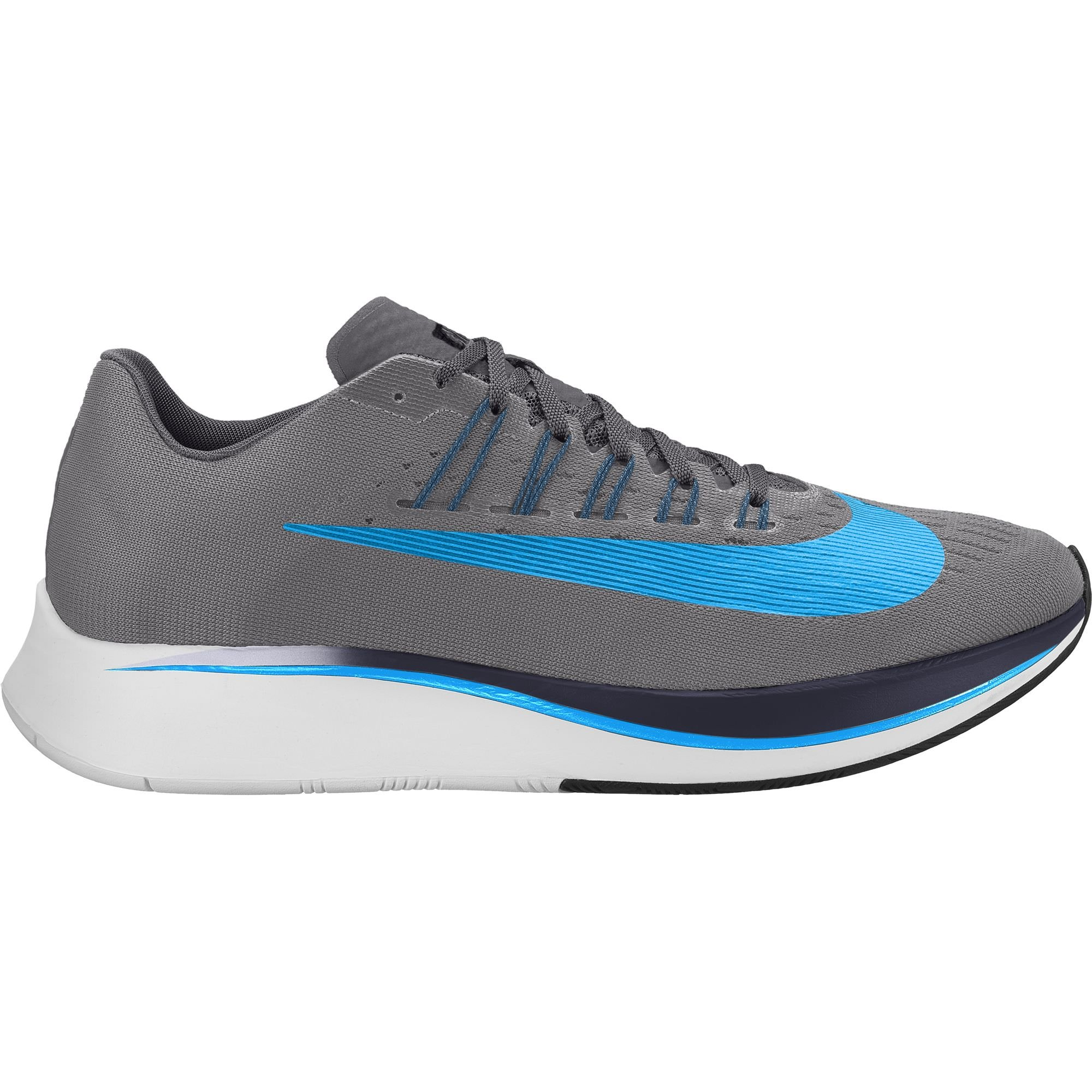 82d953323436 Galleon - Nike Men sZoom Fly Running Shoe Gunsmoke Blue  Hero-Obsidian-Thunder Grey 8.0