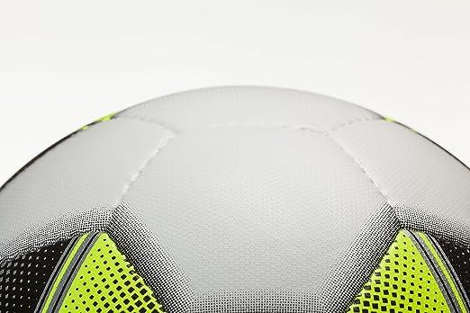 Derbystar Trainingsball Brillant TT DB weiß schwarz gelb Größe 5 Dual Bonded Fußball