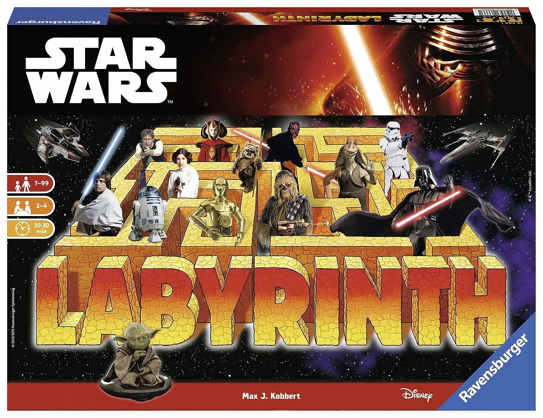 STAR WARS Star Wars-00.026.666 Juego de Mesa, Multicolor, 7 años (Ravensburger 26666 1)
