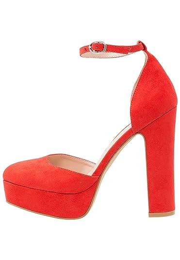 e36513e161ade1 Even Odd Plateau Pumps für Damen - High Heels mit Blockabsatz ...