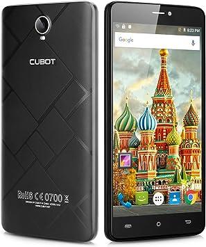 "Cubot MAX - 4G Smartphone Libre Android 6.0 (Pantalla 6.0"", MT6753 ..."