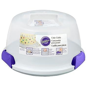 Wilton Cake Caddy Tortenglocke / Tortenbehälter: Amazon.de: Küche ...