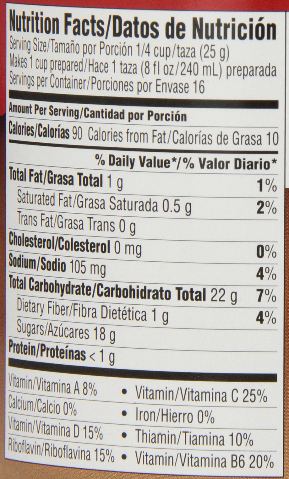 Nestle Carlos V Chocolate Drink Mix, 14.1-Ounce Containers (Pack of 6)