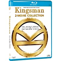 Kingsman 2 Movies Collection - The Secret Service + The Golden Circle (2-Disc)