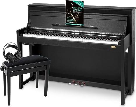 Classic Cantabile Banqueta de teclado Deluxe