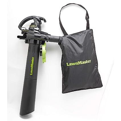 Amazon.com: lawnmaster Sopladores, Mulcher Y aspiradora, 12 ...