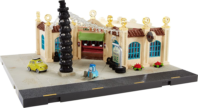 Disney Pixar Cars Precision Series Luigis Casa Della Tires Playset