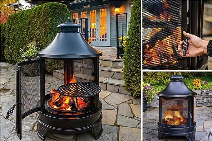 1 Garden Fire Pit # registros en al aire libre chalupa UK un toque moderno diseño de ¡a la venta que es un cuenco de acero inoxidable barbacoa calentador ...