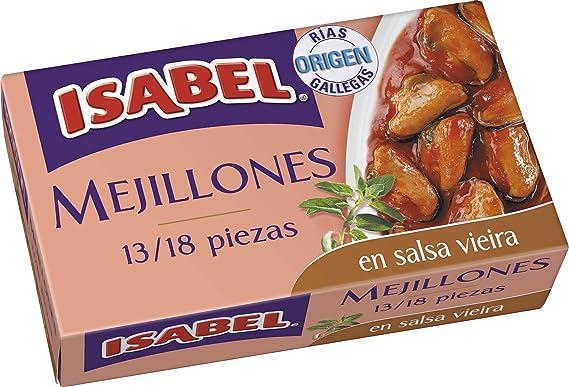 Isabel Mejillones De Las Rías Gallegas En Salsa Vieira 13-18 ...
