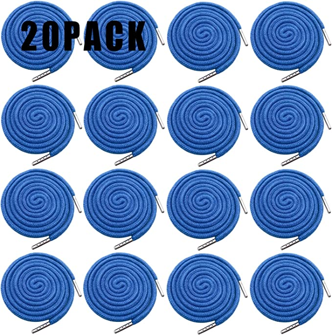 12 Pack Replacement Drawstrings Drawcords for Pants Sweatpants Hoodies Scrubs Jackets Shorts with 4 Pieces Drawstring Threader Re-Threader Tool