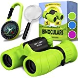 Binoculars for Kids - Perfect Toy for Little Boys and Girls - Extensive Set Including Magnifying Glass & Compass…