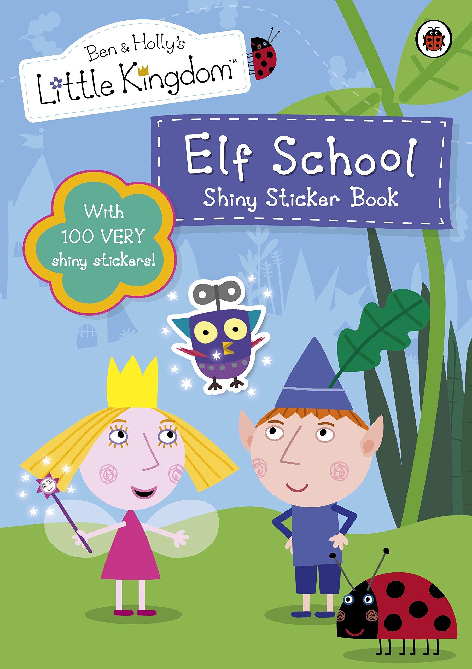 Little merchants sticker kamos sticker wall source buy ben and holly s little kingdom elf school shiny sticker book amipublicfo Images