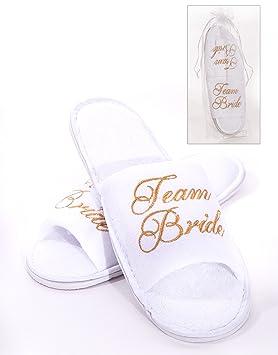 ee4f2c8c975 Alandra Gifts Slip Team Bride Spa Slipper