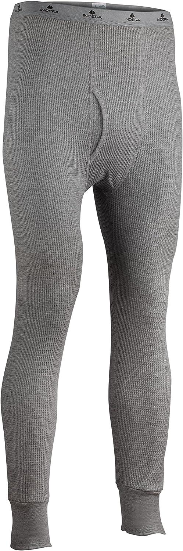 Indera Men's Cotton Waffle Knit Heavyweight Thermal Underwear Pant