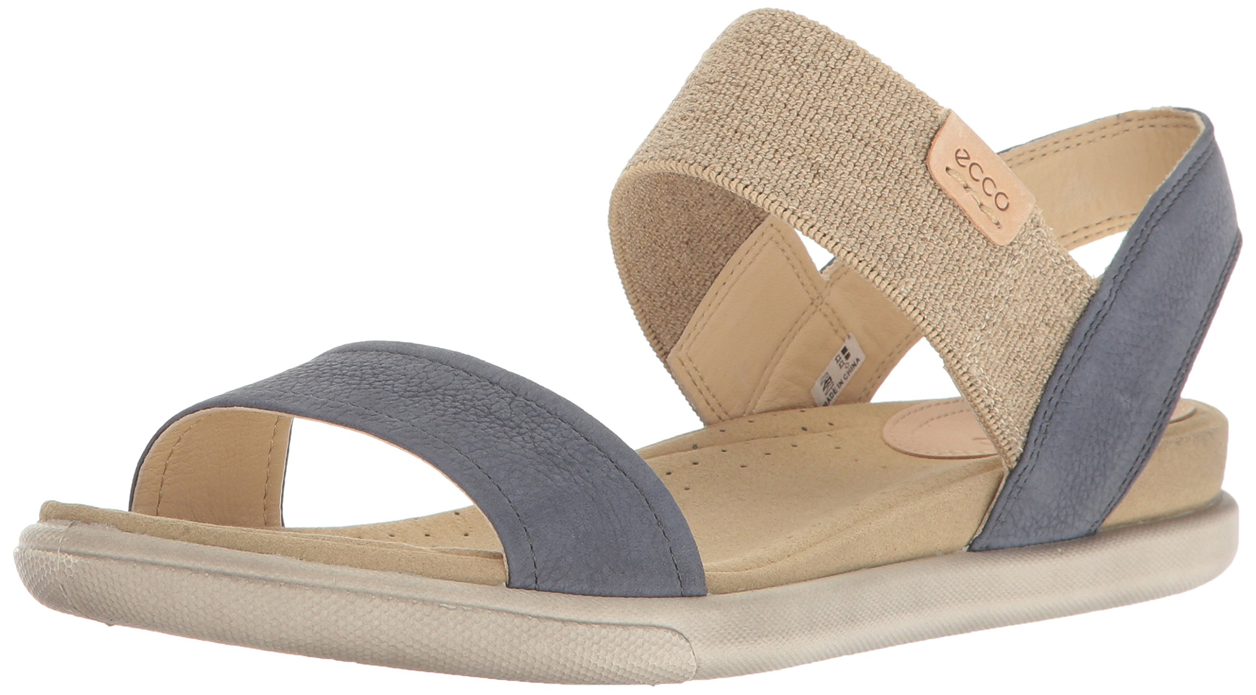 ECCO Women's Women's Damara Ankle Gladiator Sandal, Ombre/Powder, 38 EU/7-7.5 US