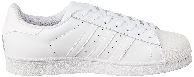 adidas Unisex-Erwachsene Weiß Superstar Foundation B27136 Low-Top, Weiß Unisex-Erwachsene (Ftwbla/Ftwbla/Ftwbla) ee7075