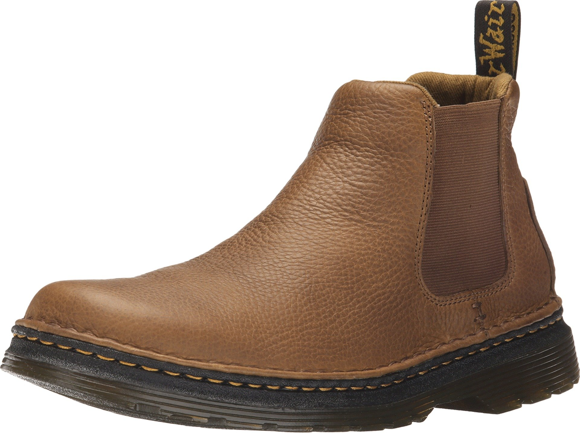 Dr. Martens Men's Oakford Chelsea Boot, Tan, 8 UK/9 M US by Dr. Martens