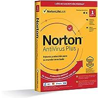 Norton Antivirus Plus 2021 - Antivirus software para 1 Dispositivo y 1 año de suscripción con renovación automática…