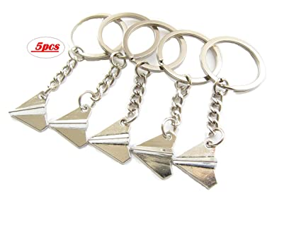 Image Unavailable. Image not available for. Color  Paper Plane Keychain ... 1139818ad