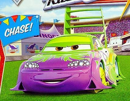 Amazon Com Disney Pixar Cars Movie 1 55 Die Cast Car Series 4 Race O Rama Impound Wingo Chase Piece Toys Games