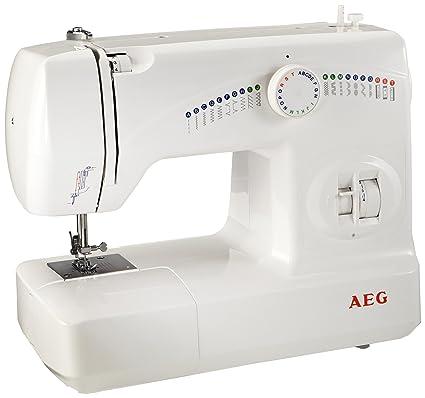 AEG 210 - Máquina de coser, 25 programas y diferentes funciones
