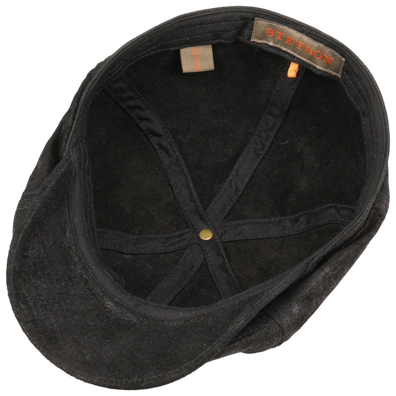 Stetson Lanesboro Leather Flat Cap antique  Amazon.co.uk  Clothing 02c0e2e3abfb