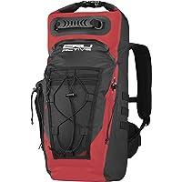 BRU Active Premium Dry Bag PVC Waterproof Backpack - 35L Sizes Zippers, Drawstring, Heavy Duty Adjustable Straps Kayaking, Boating, Hiking, Water Sports, Fishing