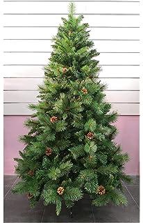 Árbol de Navidad Artificial de Pino Maxi-Relleno árboles C/Soporte metálico 150-
