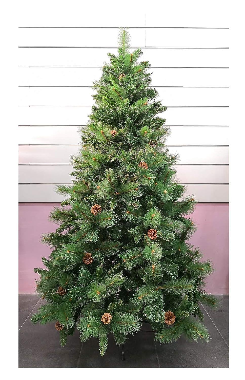 Árbol de Navidad Artificial de Pino Maxi-Relleno árboles C/Soporte metálico 150-240cm