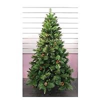 Árbol de Navidad Artificial de Pino MAX rellena árboles C/Soporte metálico 150-240cm