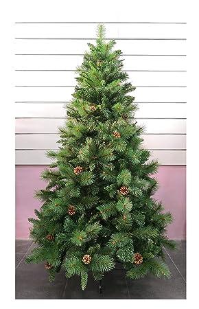 45b0f04a61fb3 Árbol de Navidad Artificial de Pino Maxi-Relleno árboles C Soporte metálico  150-240cm (Verde