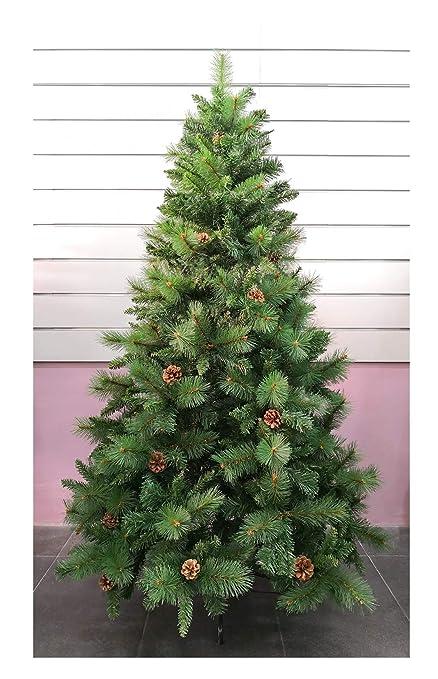4beed96a527 Árbol de Navidad Artificial de Pino Maxi-Relleno árboles C Soporte metálico  150-240cm (Verde