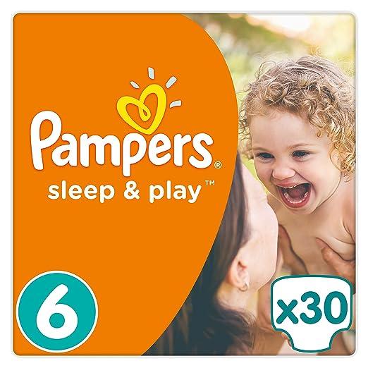 10 opinioni per Pampers Sleep e Play misura 6Confezione risparmio, 1er Pack (1X 30pezzi)