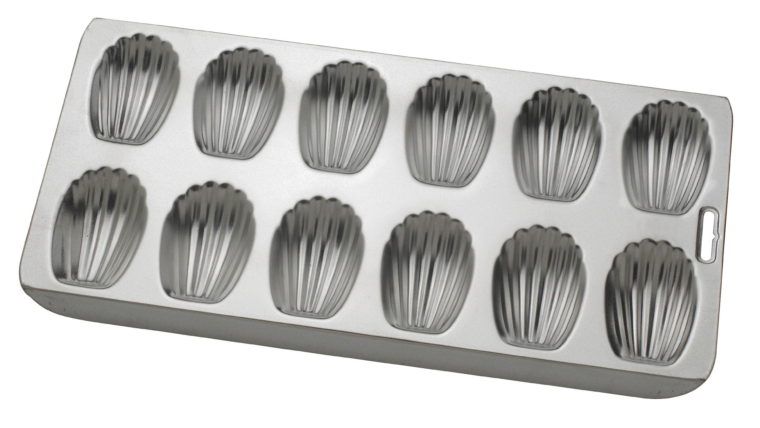 Mrs. Anderson's Baking Nonstick 12-Cup Madeleine Pan, Tinned Steel, 15.75-Inches x 8-Inches