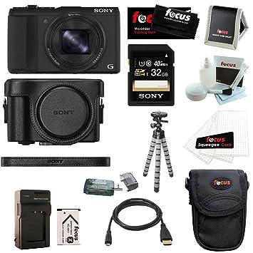 Amazon.com: Sony DSC-HX50 V/B Cyber-shot 20.4 MP cámara ...