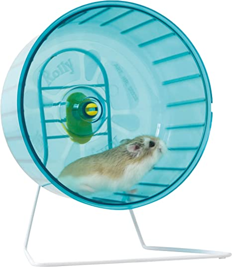 Savic Metal Stand For Both Rolly Hamster Wheels Amazon Co Uk Pet Supplies