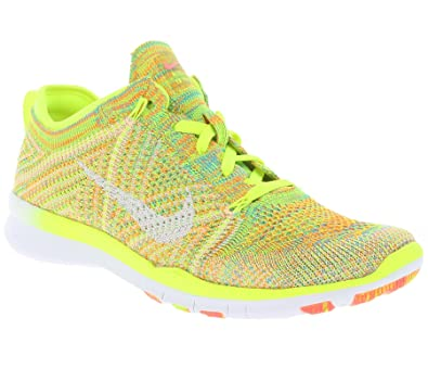 5224082bff5f NIKE Free TR Flyknit WMNS Women  s Running Shoes Yellow 718785 700 ...