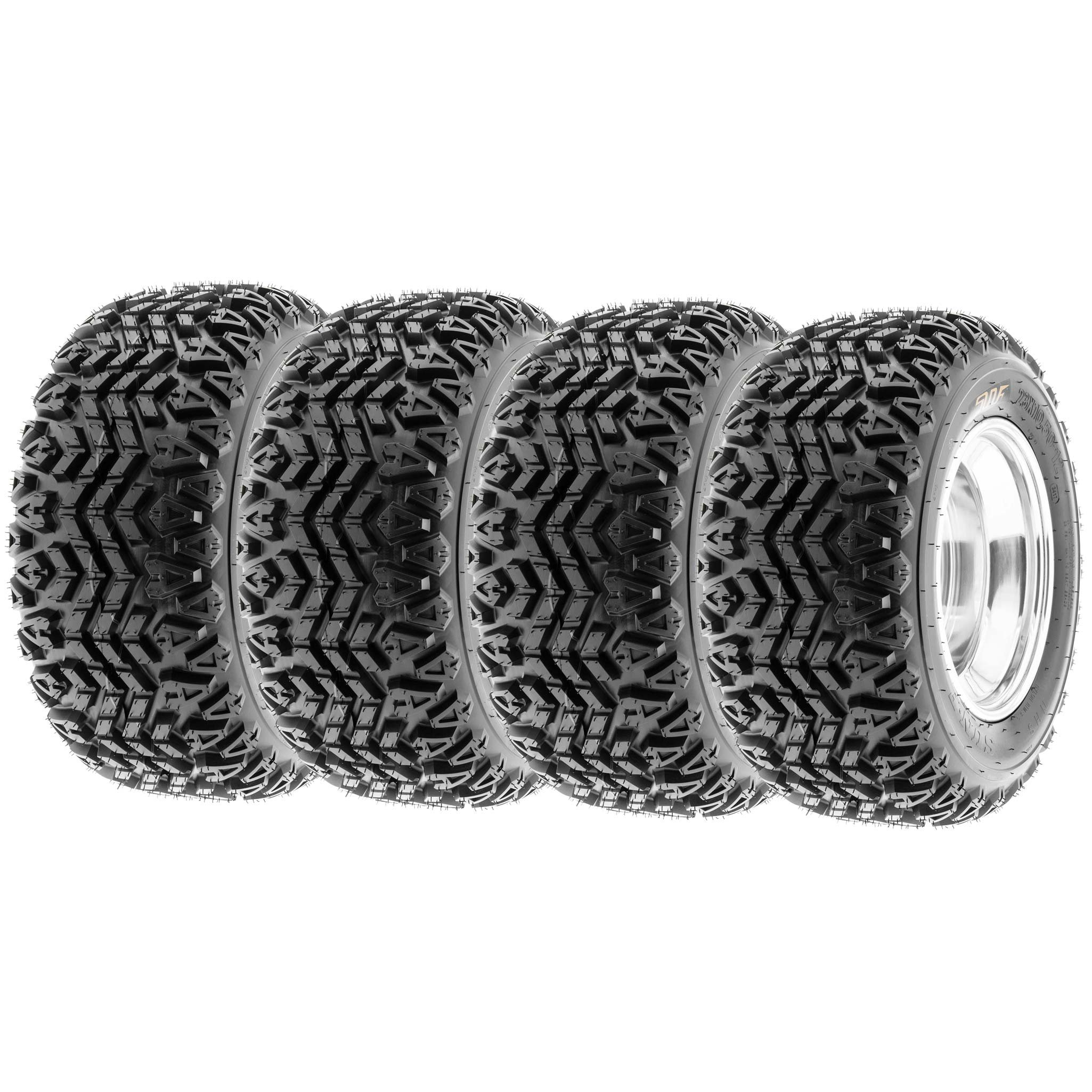 SunF All Trail ATV Tires 23x10.5-12 & 23x10.5x12 4 PR G003 (Full set of 4)