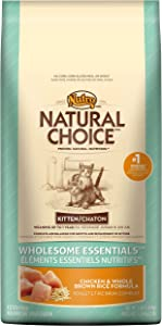 Natural Choice Wholesome Essentials Kitten Chicken And Whole Brown Rice Formula - 3 Lbs. (1.36 Kg)